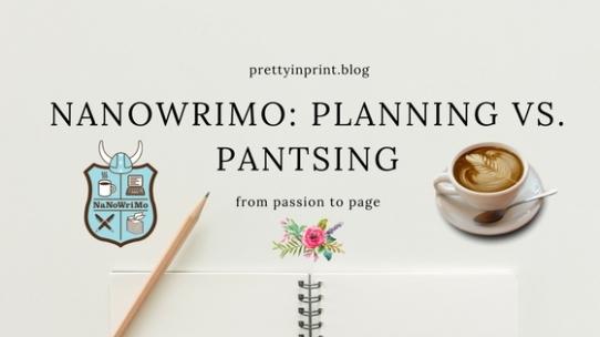 Nanowrimo Planning Vs Pantsing